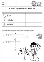 <p>Atividades de alfabetização sobre a Proclamação da República para a garotada que está no ensino fundamental I. </p>