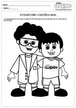 <p>Atividades para pintar sobre o Dia da Consciência Negra com os personagens do site Nosso Clubinho.</p>