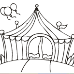 <p>Pintar é uma coisa muito divertida de se fazer? Que brincar de pintar as figuras relacionadas ao circo?</p>