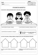<p>Atividade educativa de matemática para crianças de cinco a oito anos que trabalha com multiplicação. Nela, os alunos deverão informar a quantidade de biscoito que cada uma das crianças ganhou.</p>