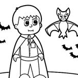 <p>Entre no clima do Halloween com esse jogo de colorir.</p>