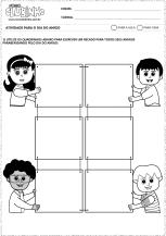 <p>Atividade comemorativa ao Dia do Amigo para a alfabetização de crianças. Nessa atividade, os alunos deverão escrever recados para seus melhores amigos.</p>