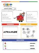 <p>Atividade para alfabetização que trabalha com o tema folclore. Nessa atividade, a criança brinca com as cantigas e personagens do folclore brasileiro.</p>