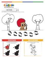 <p>Atividade para a Educação Infantil que trabalha com o tema Dia do Folclore. Nessa atividade educativa, a criançada irá brincar com o Curupira, Boi Bumbá e Sereia Iara.</p>